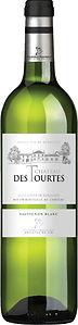 Château des Tourtes Cuvée Classique Blanc. Sauvignon Blanc en Sémillon uit Bordeaux. Witte wijn.