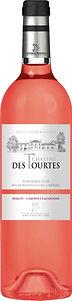 Château des Tourtes Cuvée Classique Rosé uit Bordeaux. Rosé