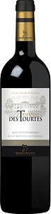 Château des Tourtes Cuvée Prestige Blanc. Merlot en Cabernet Sauvignon uit Bordeaux. Rode wijn.