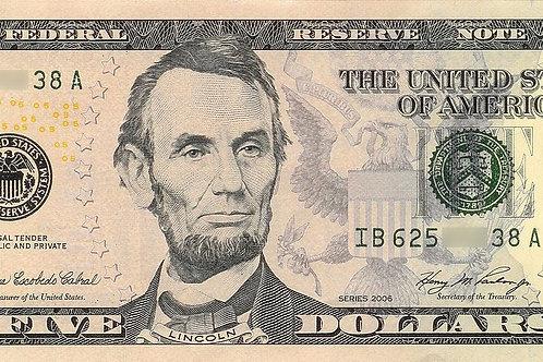 Five Dollars
