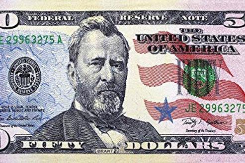 Fifty Dollar