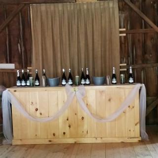 Large Wood Bar