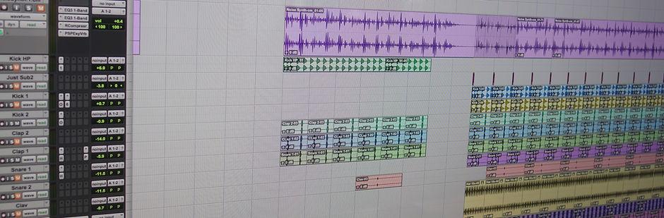 Mixing at white bear studios recording studio manchester