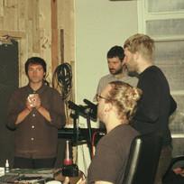 Mewn Recording Session