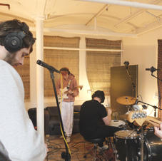The Twitchers in Pre-Production at White Bear Recording Studios Manchester