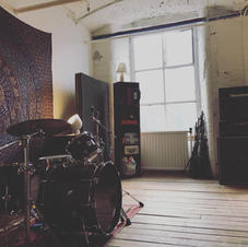 Live Room at White Bear Recording Studios Manchester