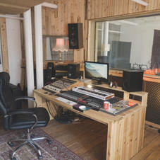 Control Room at White Bear Recording Studios Manchester