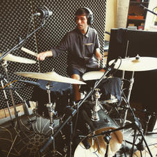 Recording Drums at White Bear Recording Studios Manchester