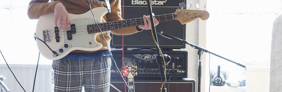 Tom at White Bear Recording Studios Manchester