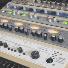 Pre Amps and Interface at White Bear Recording Studios Manchester