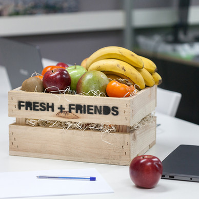 4 BENEFICIOS DE OFRECER FRUTA EN LA OFICINA