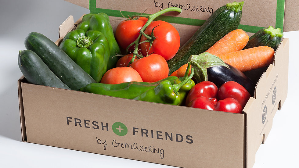 Caja de verdura Fresh