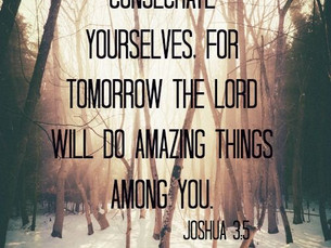 Consecrate Yourselves