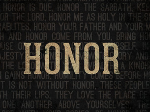 Bestowing Honor