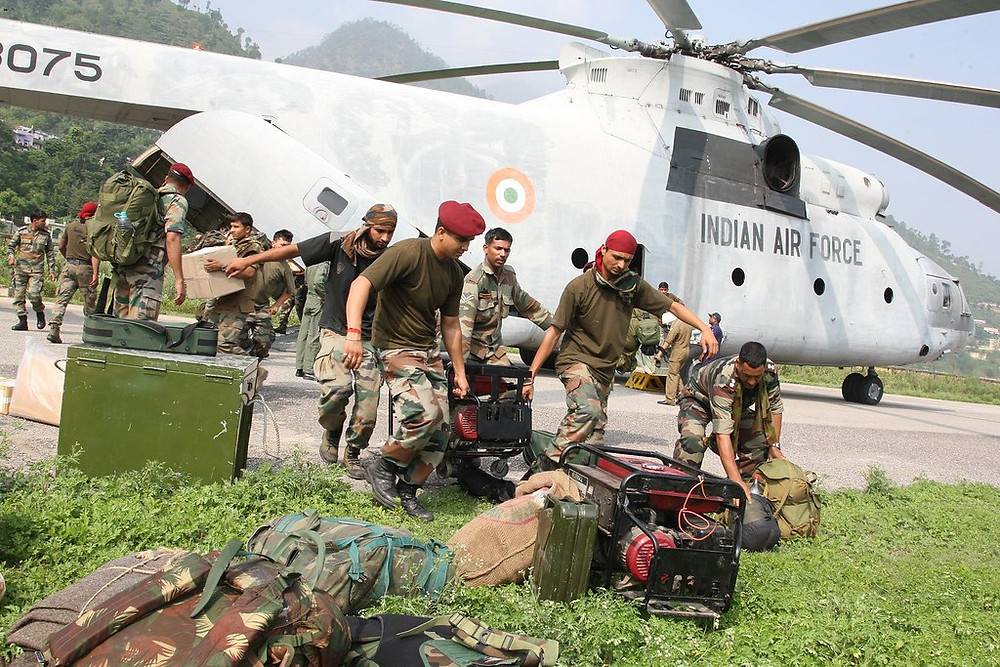 Operation Rahat by Indian Air Force