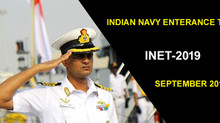 Indian Navy Entrance Test (INET) 2019