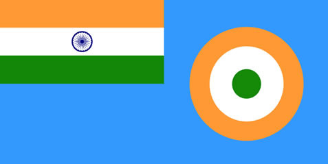 Indian Air Force Official Flag