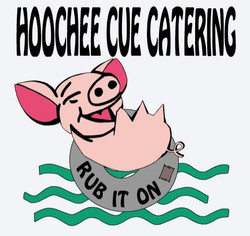 Hoochee Cue Catering final draft logo