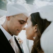 Modern Wedding Couple Shots