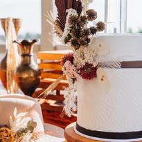 Rustic Boho Cake