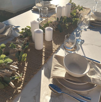 Rustic Australian Table Setting