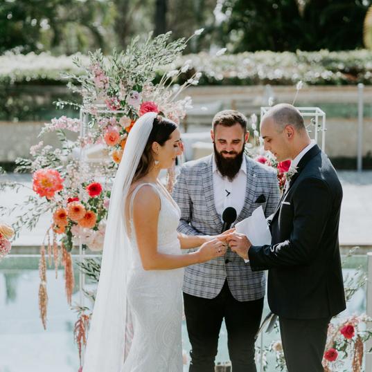Modern Wedding Ceremony I Do
