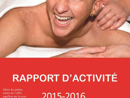 Rapport d'activités 2015-2016