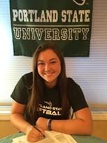 Sierra Boyajian Signed to Portland State