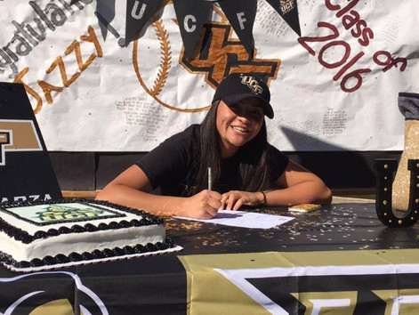 Jazmine Esparza Signs National Letter of Intent to UCF