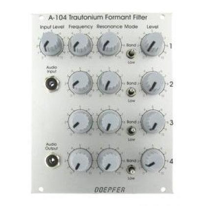 DOEPFER A104- TRAUTONIUM FORMAT FILTER