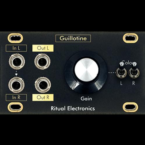 RITUAL ELECTRONICS GUILOTINE