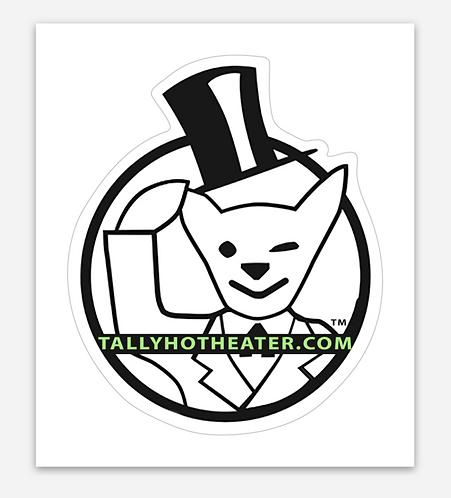 """Logo Sticker 2.5""""x3"""""""