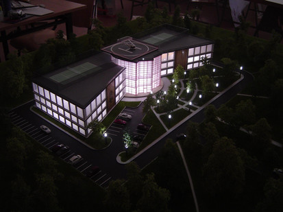 Production of realistic architectural 3D models