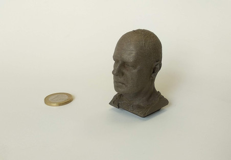 Bronze 3D bust
