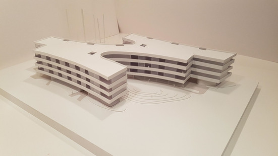 Production of architectural 3D models