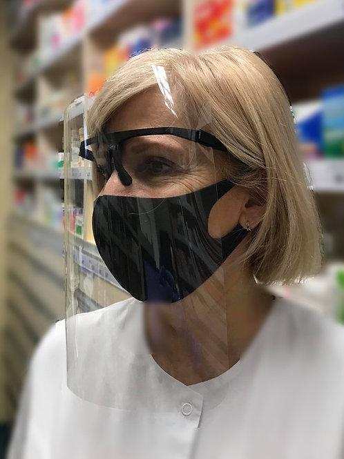 Apsauginiai veido skydai - akiniai