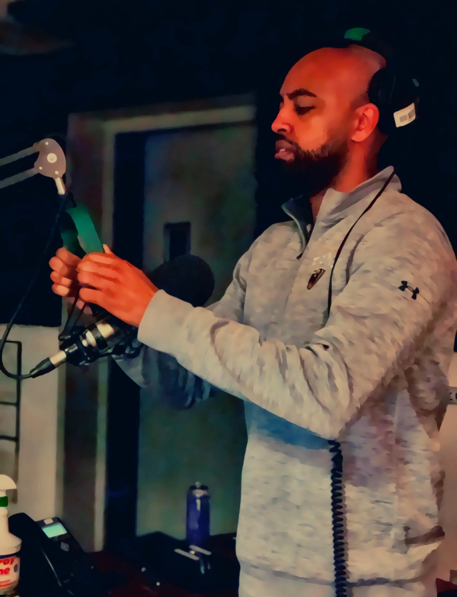 Abel Meri in studio