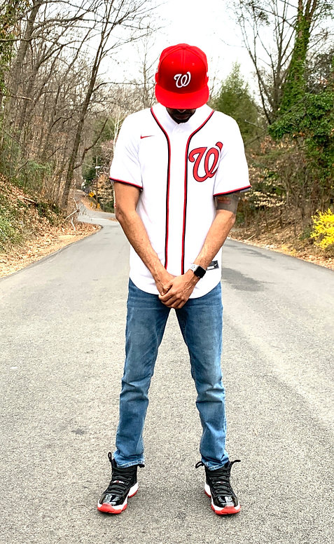 Abel Meri in Washington Nationals Jersey