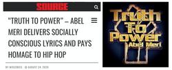 Abel Meri The Source Magazine Truth to P