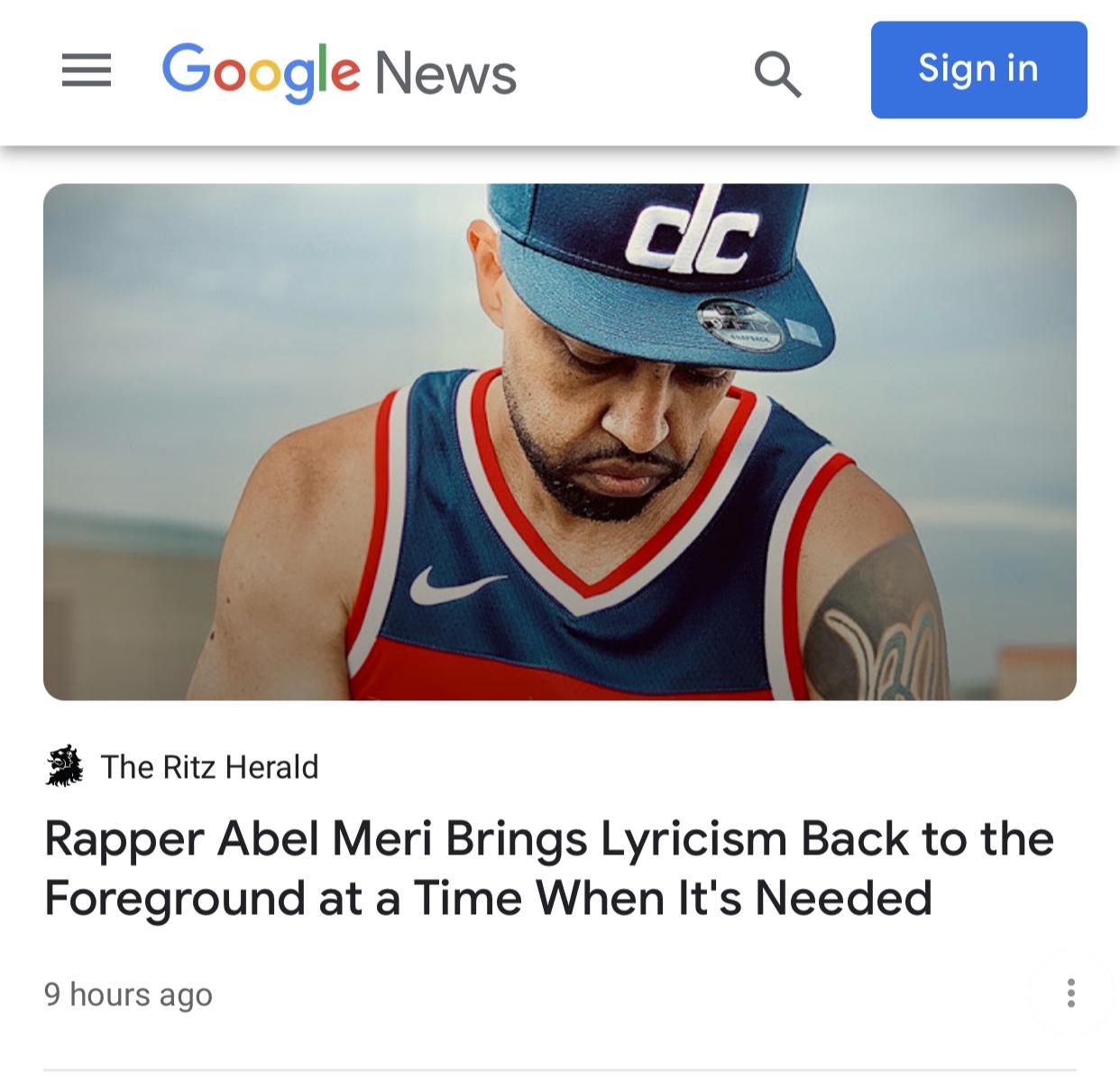 Abel Meri Google News