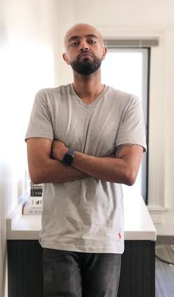 Abel Meri in studio session in NW Washin