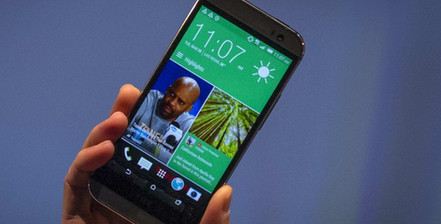 HTC Launches M8 Smartphone