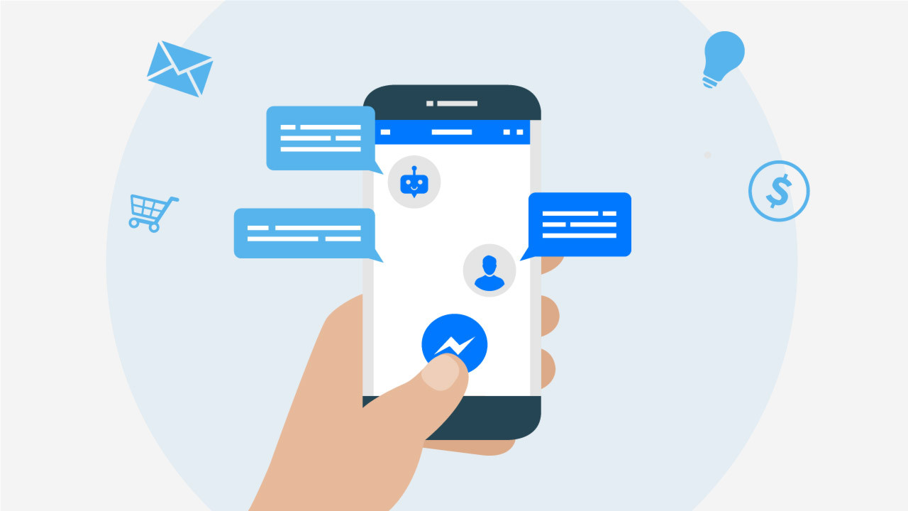 Facebook pushes Chat Bots for Messenger