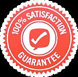 Satisfaction guarantee 100%