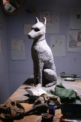 le chien d'Ezra