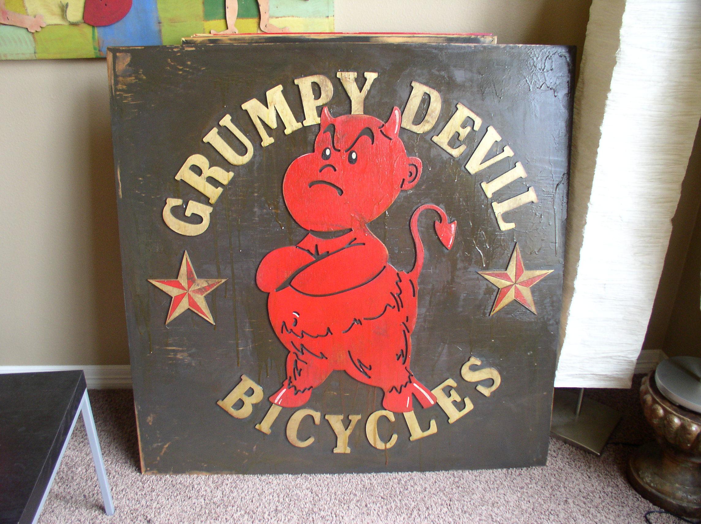 Grumpy Devil