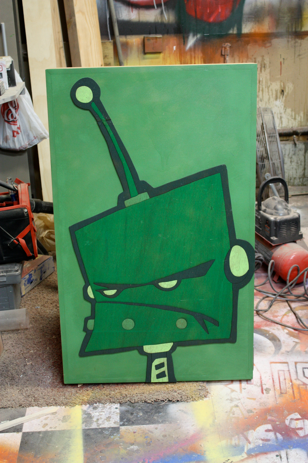 Bot in Green