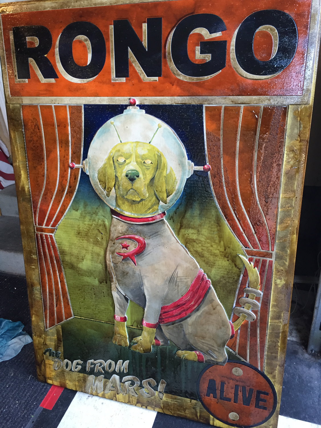 RONGO - Dog from Mars