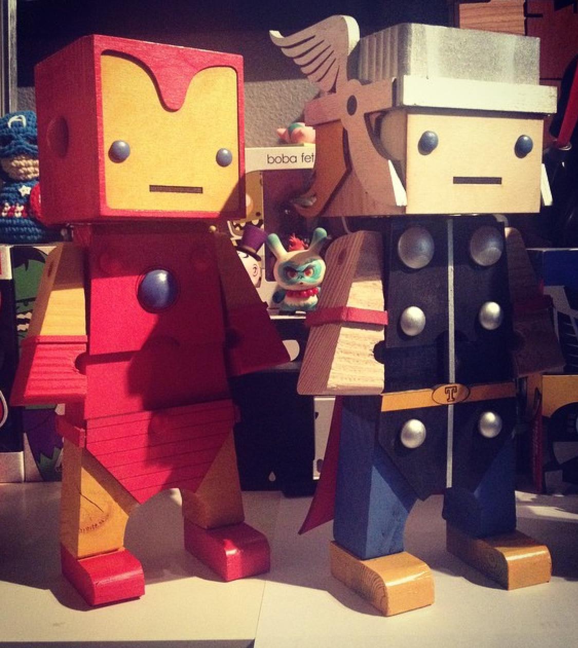 Iron Man + Thor