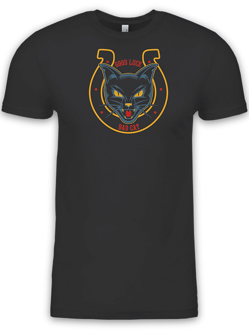 Good Luck, Bad Cat Tee